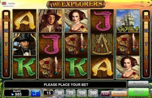 The Explorers Slot